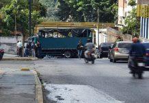 camión de la GNB