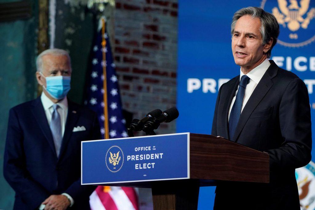 EE UU mantendrá reconocimiento a Juan Guaidó, dice secretario de Estado nominado por Biden