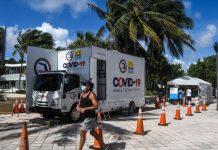 Florida registró más de 1,6 millones de casos de coronavirus desde marzo