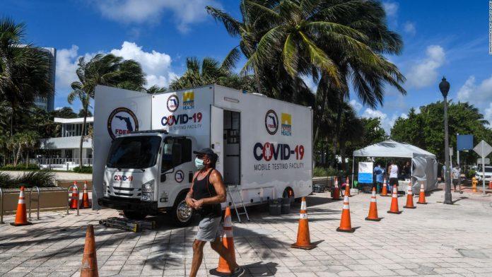 Florida-casos de coronavirus-fallecidos