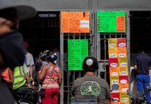 Canasta alimentaria familiar se ubicó en 294 dólares en diciembre