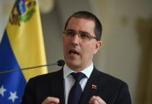 Jorge Arreaza conferencia