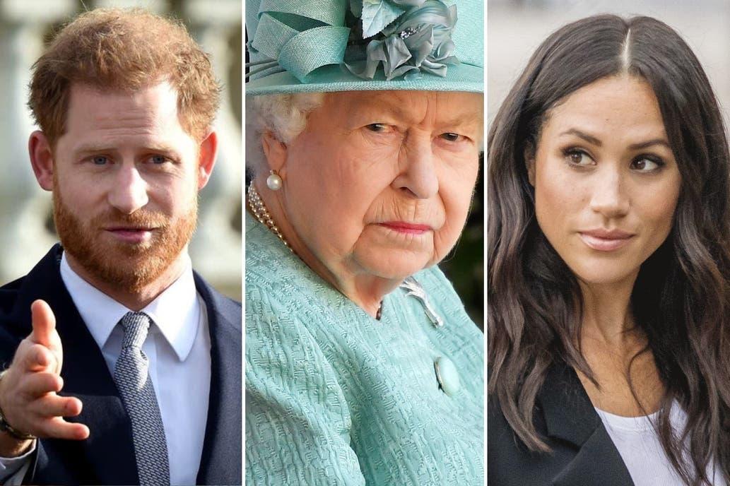 La reina Isabel no quiere ver la entrevista de Harry y Meghan con Oprah