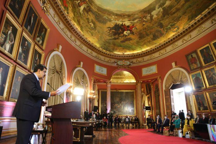 Maduro presentará su Memoria y Cuenta ante el Parlamento chavista este martes