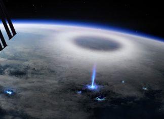 rayo azul Tierra