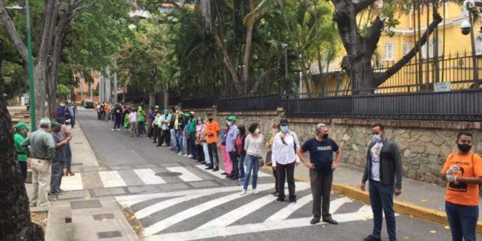 Cadena humana colombia