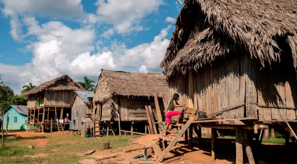 Más de 35% de los indígenas que viven en aldeas en Brasil ya están vacunados contra el covid