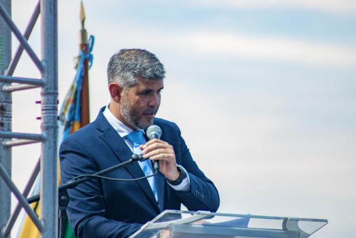 Manuel Ferreira. alcalde de Lechería
