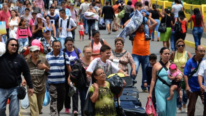 refugiados y migrantes venezolanos España aportó 5 millones de euros a OIM en apoyo a los migrantes de Venezuela