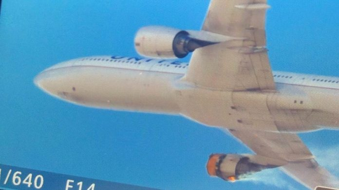 Avión motor