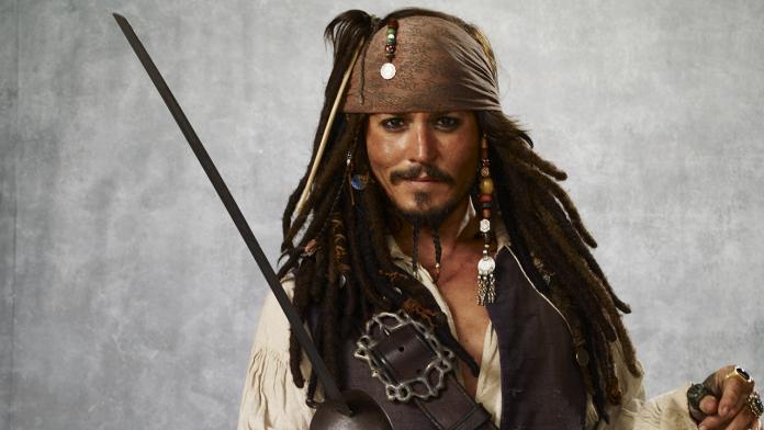 Piratas del Caribe Johnny Depp