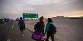 migrantes Guatire Chile-la crisis migratoria