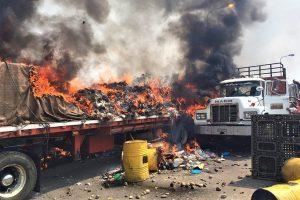 Dos años del incendio de la ayuda humanitaria: la metáfora de un país
