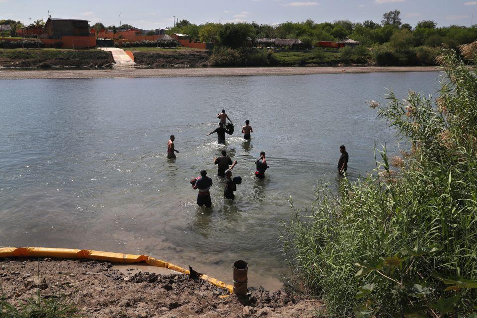 Mundo Muere venezolana al intentar cruzar el río Bravo hacia EEUU