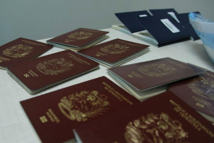 pasaportes Saime