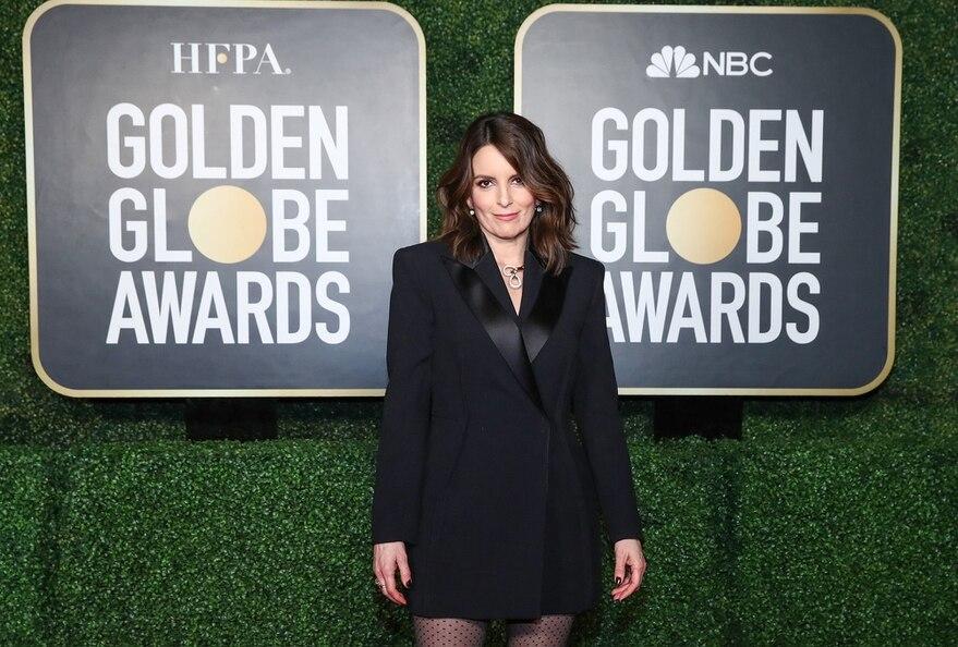 Tina Fey Globos de Oro