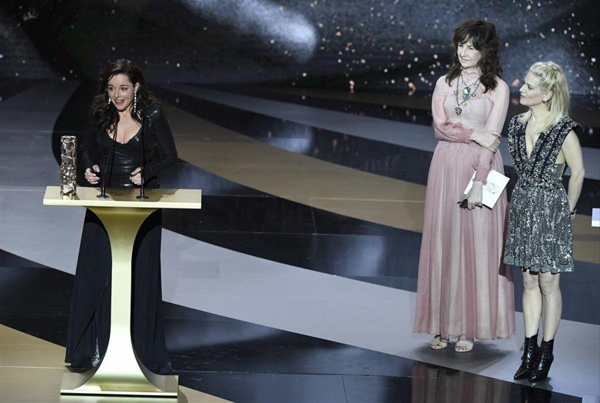 César para mejor película del año fue otorgado para Adieu les cons