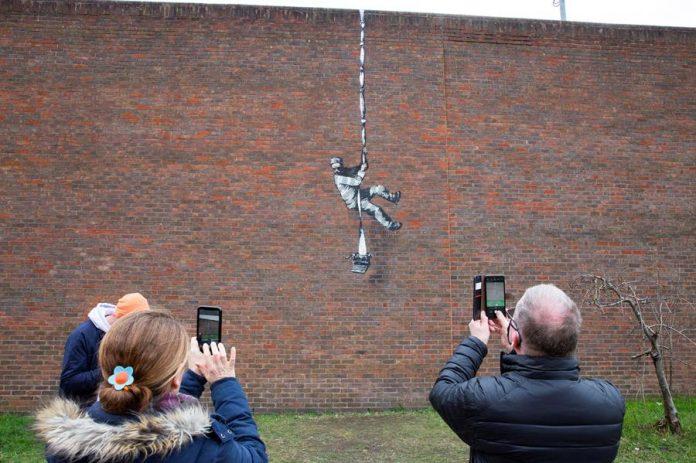 Banksy en Reading