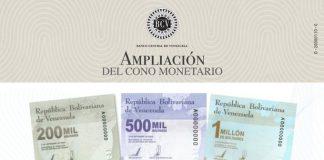 El Banco Central de Venezuela amplió cono monetario