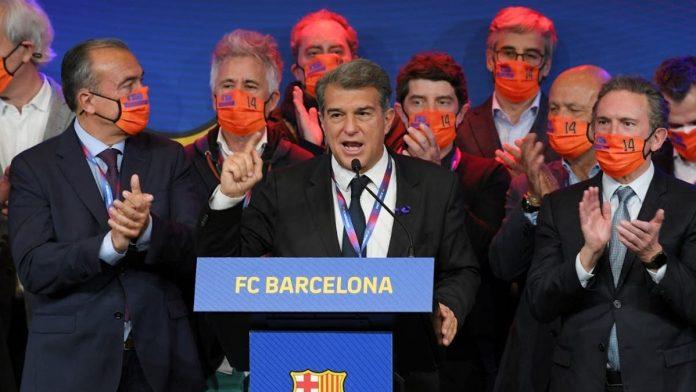Laporta presidente Barcelona