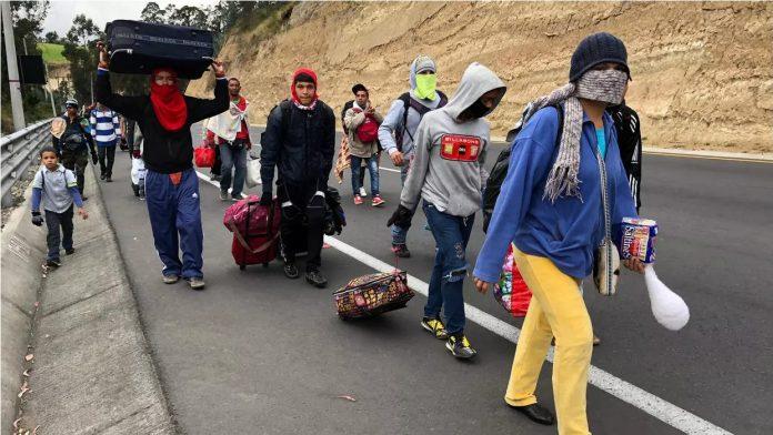 Migración venezolana Canadá