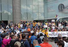 Mujeres protestaron en su día en Caracas para reclamar condiciones de vida