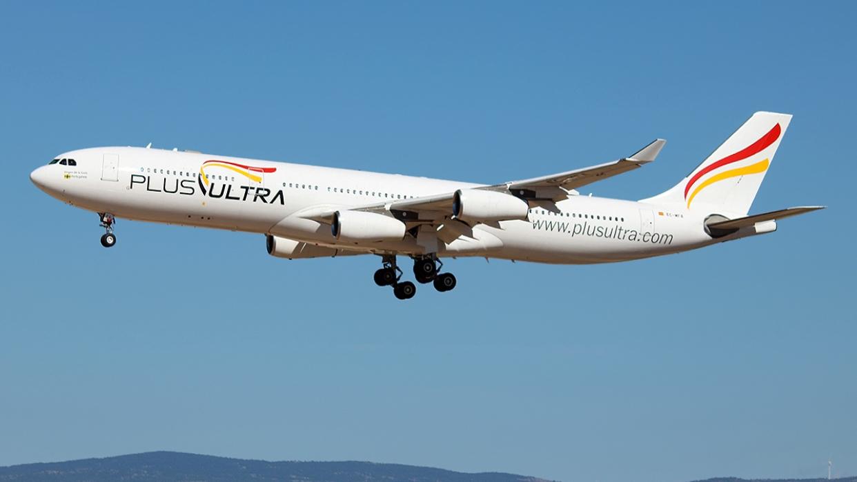 La aerolínea española Plus Ultra reinicia sus vuelos a Venezuela