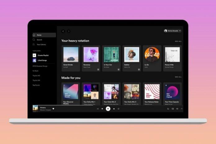 sin conexión Spotify