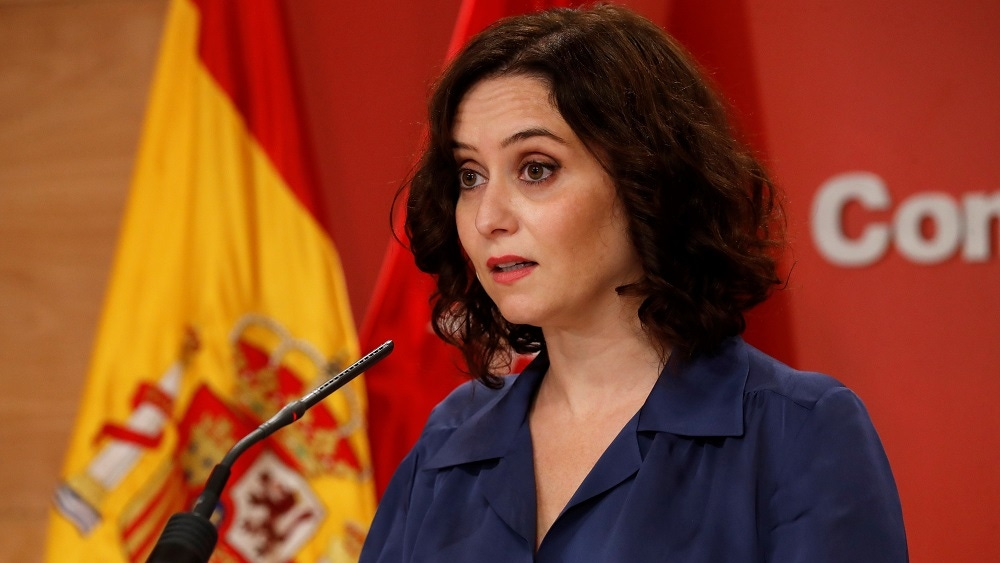 """Isabel Díaz Ayuso: """"Madrid no puede convertirse en Caracas"""""""