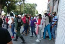 GNB golpeó a periodista en protesta por el Día de la Mujer en Vargas