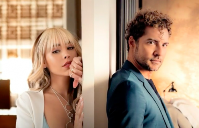 """""""Come back, come back"""", the first collaboration of Danna Paola and David Bisbal"""