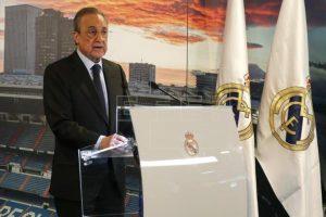 Florentino Pérez Real Madrid-de la Superliga