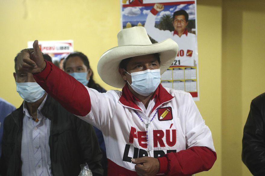 Pedro Castillo candidato