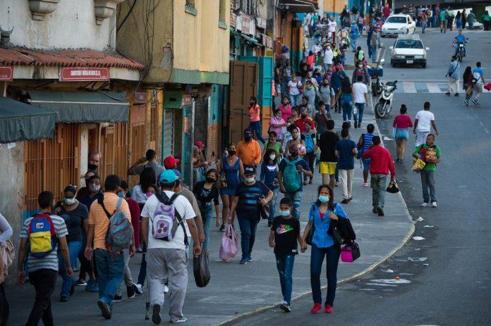 casos de covid -19 flexibilización-Venezuela