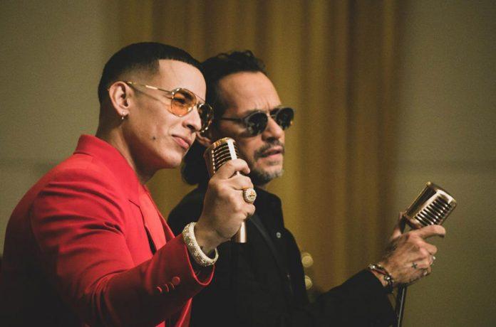 """""""Una noche"""" Marc Anthony y Daddy Yankee"""