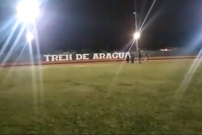 El estadio de beisbol que presumen miembros del Tren de Aragua