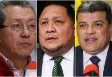 La controversia de Luis Parra, José Brito y al chavista Julio León Heredia