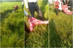 Así recogieron los cadáveres de los militares emboscados en Apure