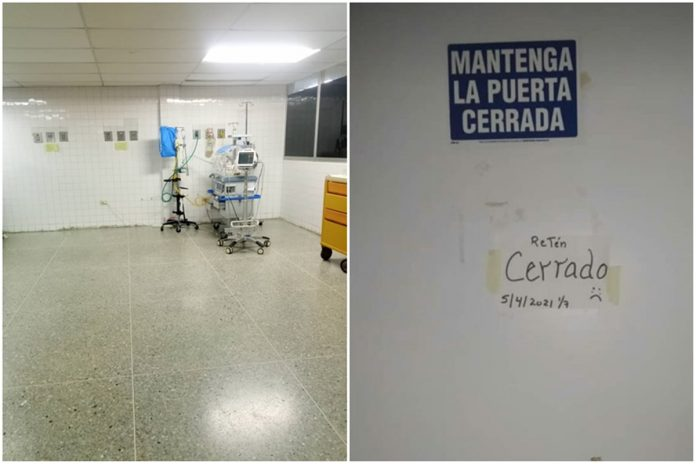 Cerraron la Unidad de Neonatología de hospital de Barquisimeto por falta de personal y equipos médicos