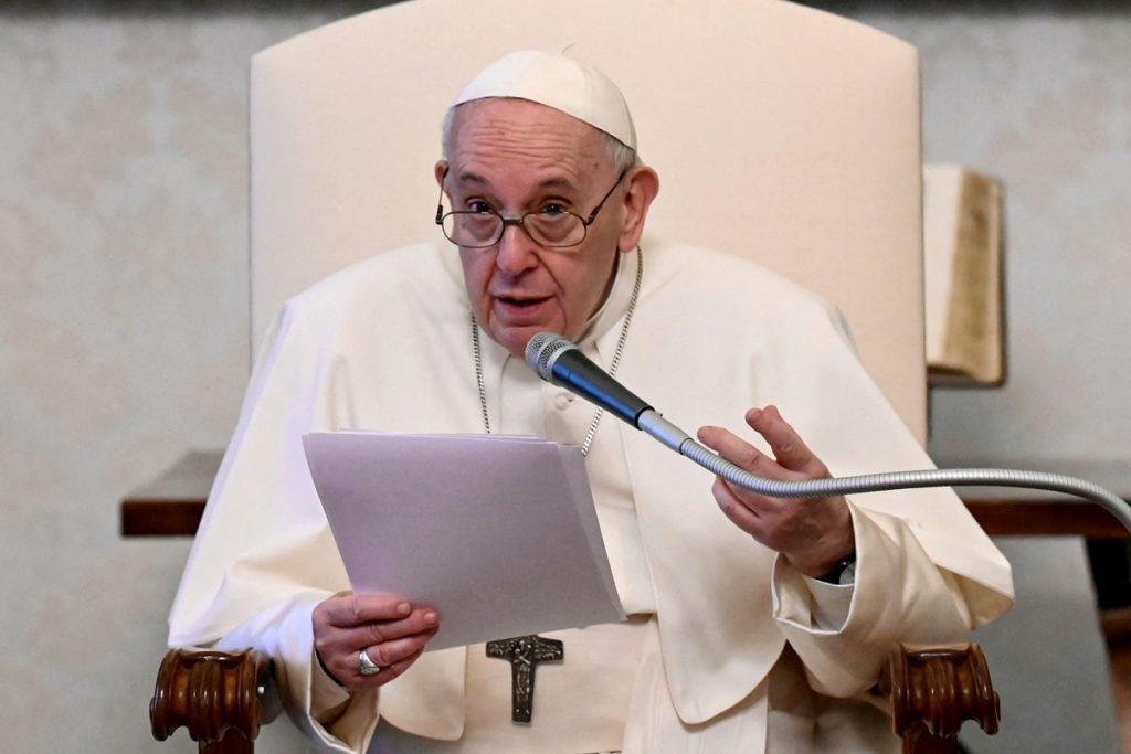 """Papa contrario a toda """"intervención de afuera"""" en Venezuela-El Papa de"""