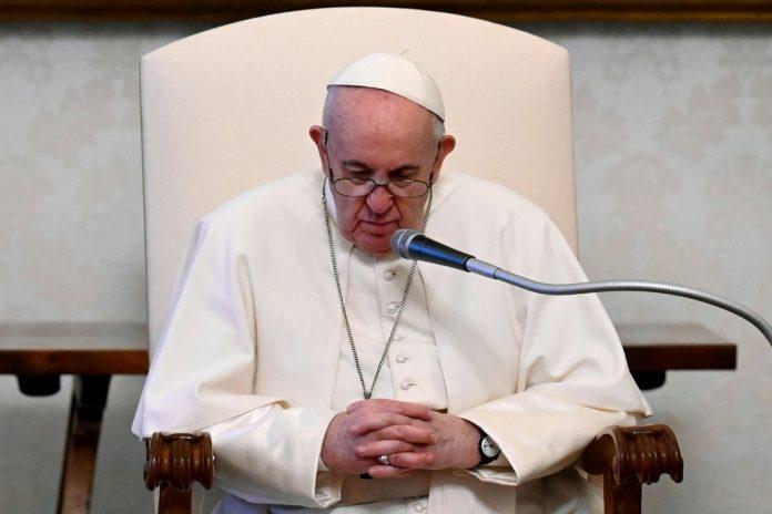 papa Francisco, sembrado desolación