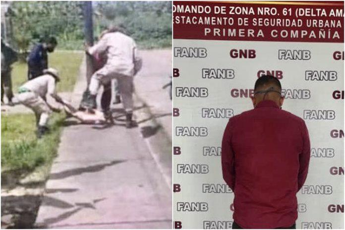 Detuvieron a un presunto miliciano por asesinar a un perro en Tucupita