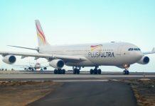 Plus Ultra solo ha operado dos vuelos regulares hacia Venezuela en lo que va de año-España
