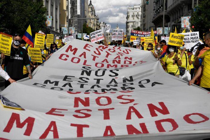 Colombia violencia policial