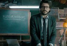 El Profesor La casa de papel
