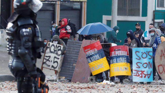Bogotá informe protestas
