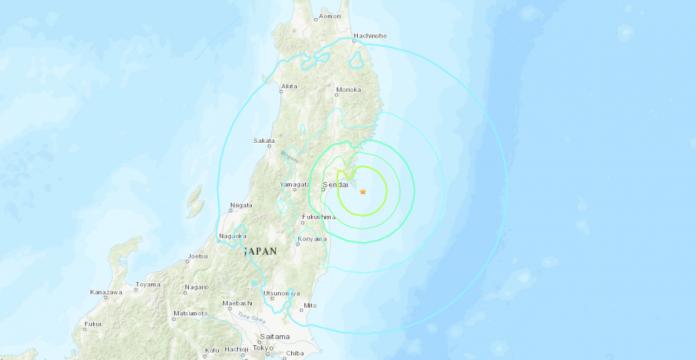 Un terremoto de magnitud 6,8 sacudió el noreste de Japón sin alerta de tsunami