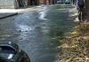 Foro Comunitario alertó un nuevo bote de aguas negras en la avenida principal de Sebucán