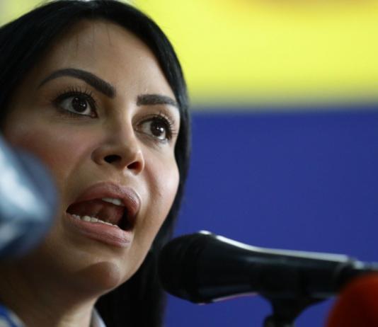 Delsa Solórzano una delegación de la Unión Interparlamentaria