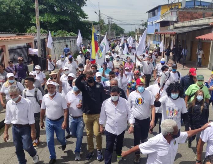 AD tras recorrido en Guanare: Construiremos un gran equipo que le devuelva la democracia a Venezuela